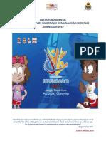 Carta Fundamental 2019 Oficial JUDENACOM 2019