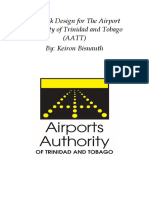 Network Design for the Airport Authority of Trinidad and Tobago