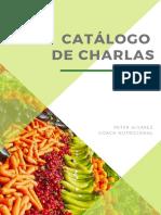 Catálogo charlas - Peter Alvarez Mora