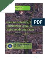 Plan de Desarrollo Concertado Del Distrito de Jesús María 2013 - 2025