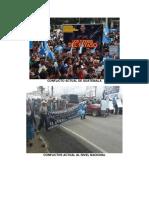 Conflicto Actual de Guatemala