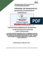 BASES CAS N°009-2019 UGEL HVCA