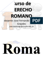 Curso Derecho Romano 1