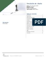 Diseño Estudio de SimulationXpress 2