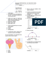 Evaluacion de Matematicas 2