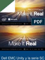 Isaac Aldana Dell EMC Unity y La Serie SC