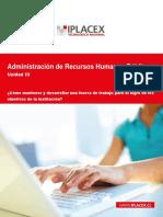ADMINISTRACION DE RECURSOS HUMANOS PUBLICOS - UNIDAD III