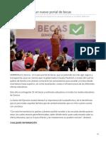 21-06-2019 Abre El Gobierno Un Nuevo Portal de Becas-El Imparcial