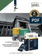 Gaceta Juridica (2019). Folleto Digital de Gaceta Penal & Procesal Penal 2019-2020. Lima.