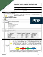 P0200 - I012 Estándar Para Verificación de Elementos de Izaje