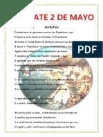 combate dos de mayo