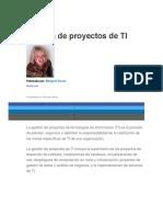 Gestión de Proyectos de TI