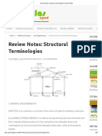 Review Notes_ Structural Terminologies _