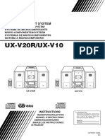 JVC ux-v20r/ux-v10 manual