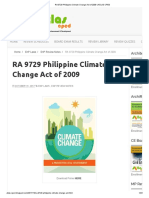 RA 9729 Philippine Climate Change Act of 2009 _ ATLAS-CPED
