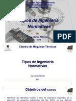 Módulo IX - Tipos de Ingeniería y Normas