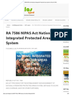 RA 7586 NIPAS Act National Integrated Protected Areas System _ ATLAS-CPED