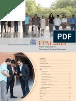 FPM Brochure 2018-19