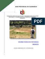 Informe Topografico Pencaloma