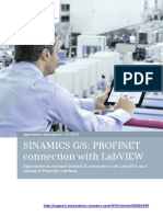 Sinamics g s Profinet Connection With Labview 20150904 v20 En