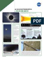 flyer sobre el eclipe del 2019