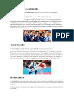 Deporte en Guatemala