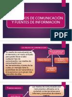 Los Medios de Comunicacion y Fuentes de Informacion