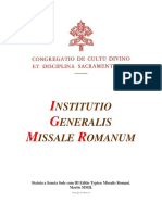 Institutio Generalis Miussale Romanum