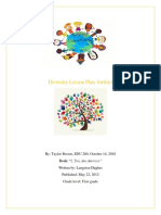 edu 280 diversity lesson plan
