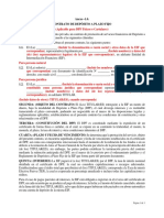 Modelo de Contrato de Deposito