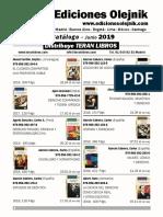 Catalogo Olejnik Teran Junio 2019