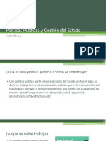 Pol_ticas P_blicas y Gesti_n Del Estado