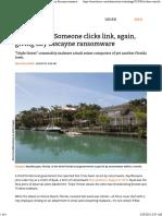 Florida LAN_ Someone Clicks Link, Again, Giving Key Biscayne Ransomware