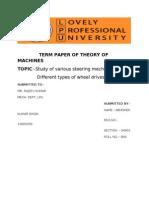 Term Paper of TOM g4901