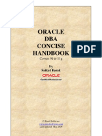 Oracle DBA Concise Handbook