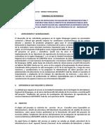 TdR Ingeniero Civil 2013