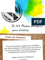 Os 10+ plugins Wordpress para criativos