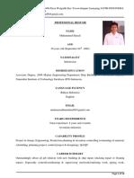 Profesional Resume
