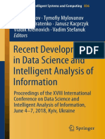 (Advances in Intelligent Systems and Computing 836) Oleg Chertov, Tymofiy Mylovanov, Yuriy Kondratenko, Janusz Kacprzyk, Vladik Kreinovich, Vadim Stefanuk-Recent Developments in Data Science and Intel.pdf
