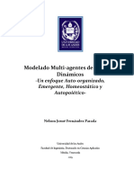 Modelo Multi-Agente de Sistemas Dinámicos