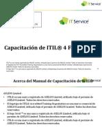 ITIL4- Fundamentos - IT Service Espanol Estudiante