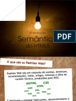 A semântica do HTML5 (web 3.0)