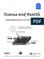 Transformation of Electrical Energy