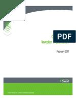 Omnicell Investor Presentation - February 2017