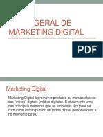 Visão Geral de Marketing Digital