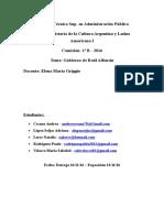 TP Final - Gobierno de Alfonsín