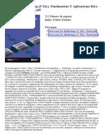 Direccion de Marketing (3ª Ed) Fundamentos Y Aplicaciones