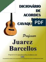 dICIONÁRIO DE ACORDES PARA CAVACO