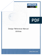 AVEVA SOLUTIONS - Design Reference Manual - Utilities