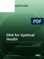 DHA for Optimal Health
